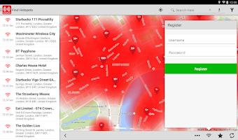 Screenshot of Vodafone Global Wi-Fi