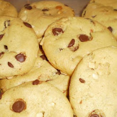 Flourless Peanut-Chocolate Cookies (Martha Stewart)