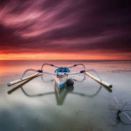 lonely by Dewa Gama - Transportation Boats