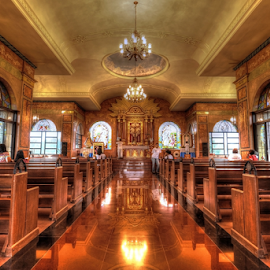 6 o'clock Mass by Jhun Melchor - Buildings & Architecture Places of Worship