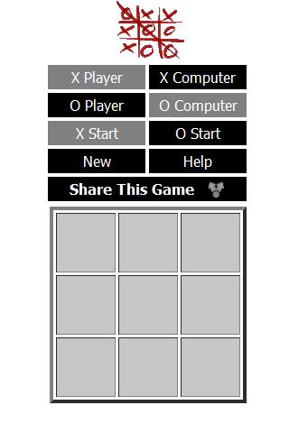 XO Game Tic Tac Toe - Lotav