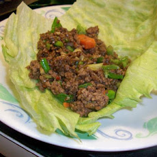 Chinese Spicy Beef Lettuce Wraps