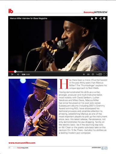 Ibass magazine - screenshot