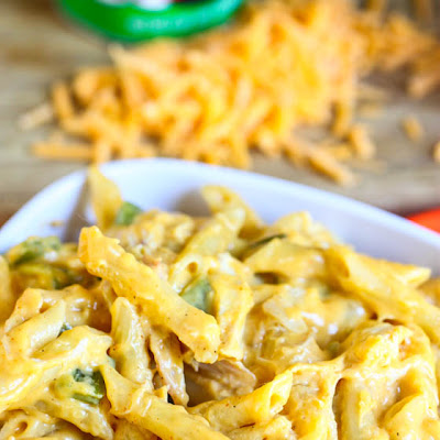 Stove Top Cajun Chicken Mac-n-Cheese