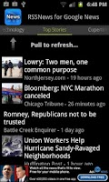 Screenshot of SNews - Google News Reader