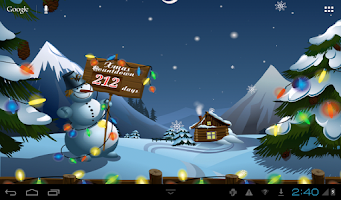 Screenshot of Seasons Winter Live Wallpaper