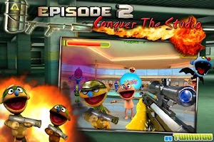 Screenshot of Puppet War:FPS ep.2