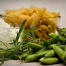 Two-Pea Pasta with Ricotta and Tarragon