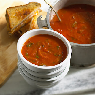 Tomato Potato Florentine Soup