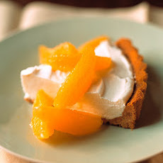 Marsala Cheese Tart with Oranges