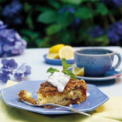 Vanilla-Jasmine-Sour Cream Tea Cake