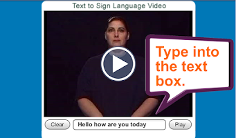 Screenshot of ASL Translator
