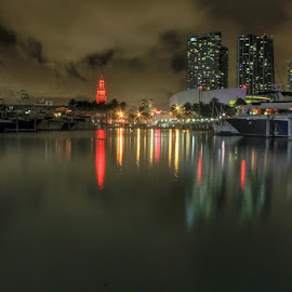 bayside, miami by Lazaro Fuentes - Novices Only Landscapes