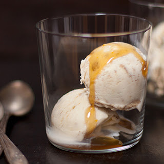 Halvah Vanilla Ice Cream