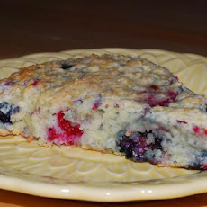 Dannon's Summer Berry Scones