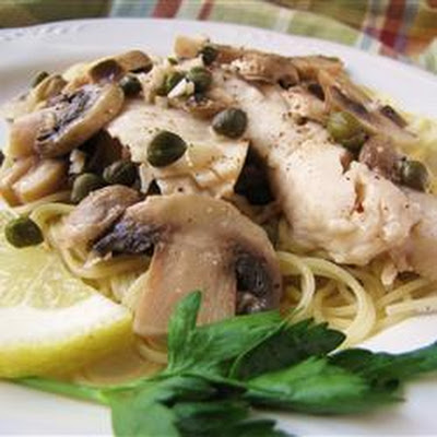 Tilapia Scaloppine