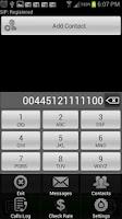 Screenshot of EZDial : Cheap calls Worldwide