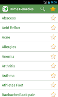 Screenshot of Home Remedies+ : Natural Cures