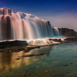 Gate Of Waves by Aditya Permana - Landscapes Waterscapes