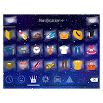 Emoji Keyboard+ Night Star 1.0 Apk