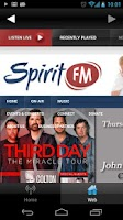 Screenshot of Spirit FM