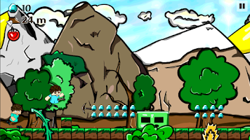 Screenshot of Herobrine Escape - Runner Game