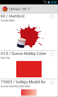 Screenshot of Hobby Color Converter