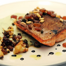 Mediterranean-style Whole Roasted Salmon with Fennel