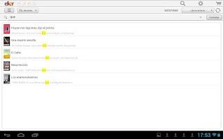 Screenshot of elkar libbuk