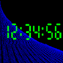 Text Digital Clock icon