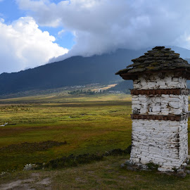 Bhutan by Aleksandra Glapa - Buildings & Architecture Places of Worship