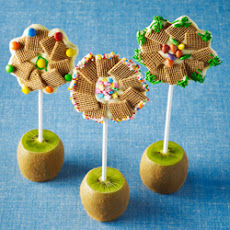 Shreddies Chocolate Flower Pops