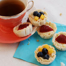 Fruit and Buttermilk Tartlets Recipe