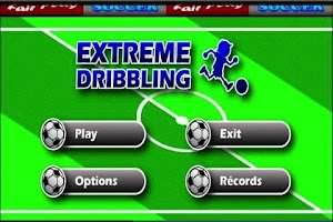 Screenshot of Extreme Dribbling
