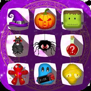 Cover art Halloween Drops - Match three