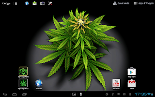 Screenshot of My Ganja Plant Live Wallpaper