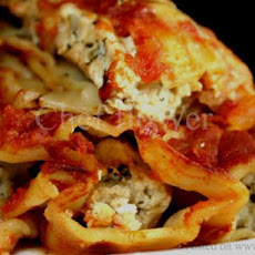 Stuffed Cheesy Shells