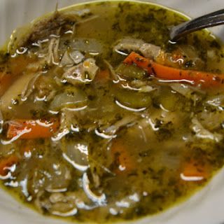 Thanksgiving Leftover Turkey Soup