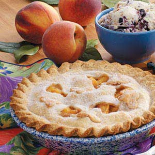 Creamy Peach Pie Recipe