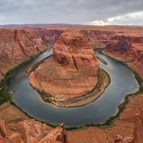 The Bend by Eric Ebling - Landscapes Caves & Formations ( nature, arizona, outdoors, bend, 5dmark2, hiking, horseshoe )