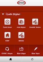 Screenshot of OYAK