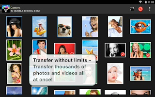 Screenshot of PhotoSync – Wireless Transfer