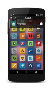 OverCast Icon Pack Long Shadow - screenshot