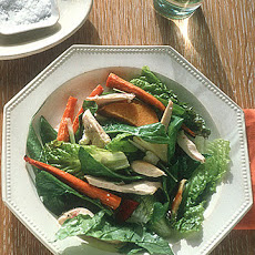 Roast Chicken Salad with Feta and Greens