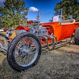 Orange Rod by Ron Meyers - Transportation Automobiles ( 2014 claremore auto show 9-27-2014 )