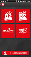 Screenshot of radio B2