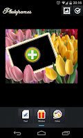 Screenshot of Flowers Photo Frames