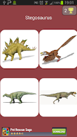 Screenshot of Dinosaur Quiz game free