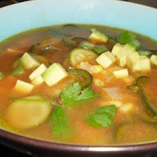 Vincent Price Sopa Poblano - Poblano Chile Soup
