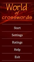 Screenshot of World of Crosswords